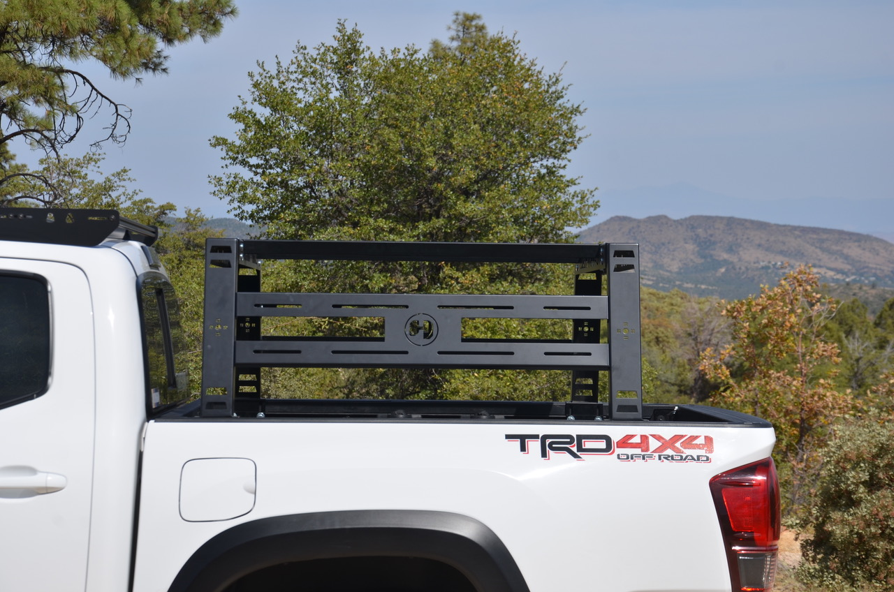 Overview of Hobbs Offroad Fabrication Bed Rack on 3rd Gen Tacoma