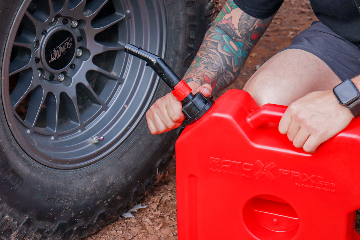 Overland & Off-Road Gas Can from RotopaX - Roto-Molded Plastic