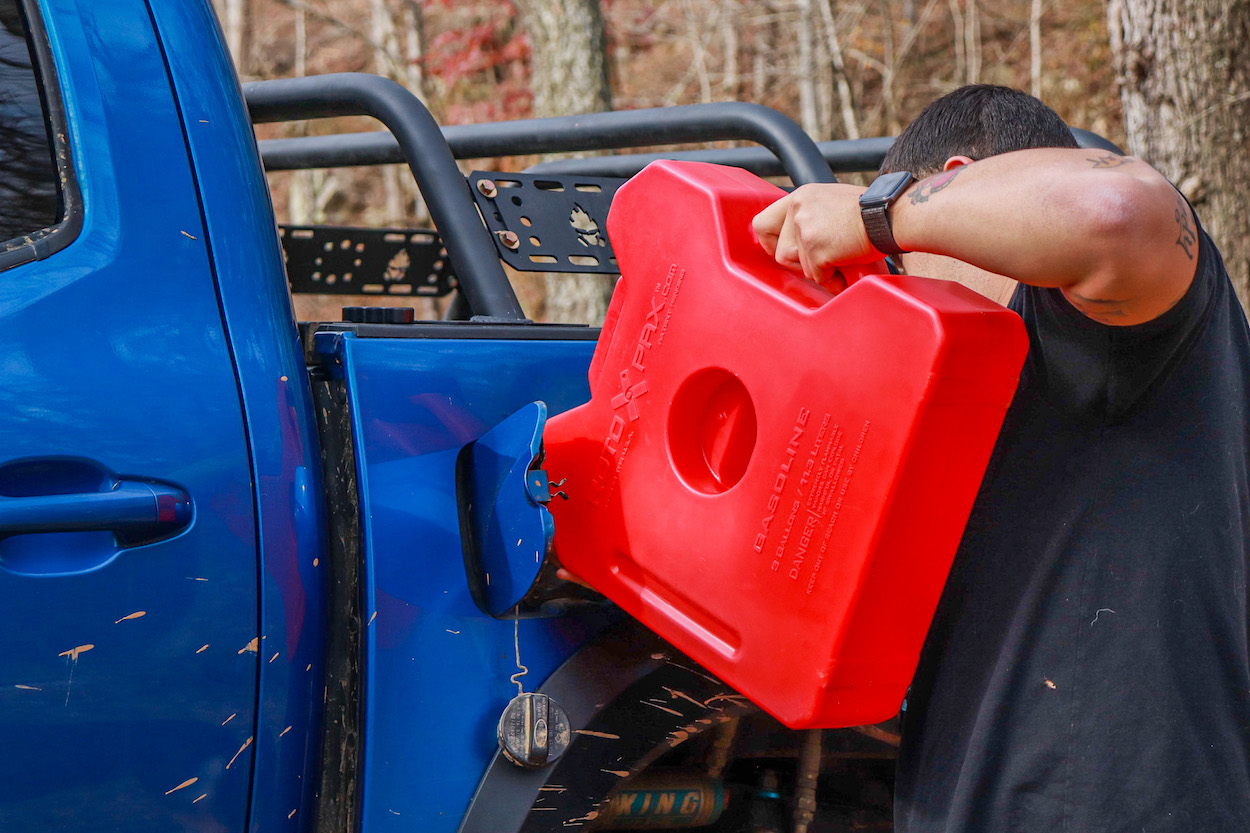 Off-Road Gas Can Complete Review - RotopaX 3-Gallon