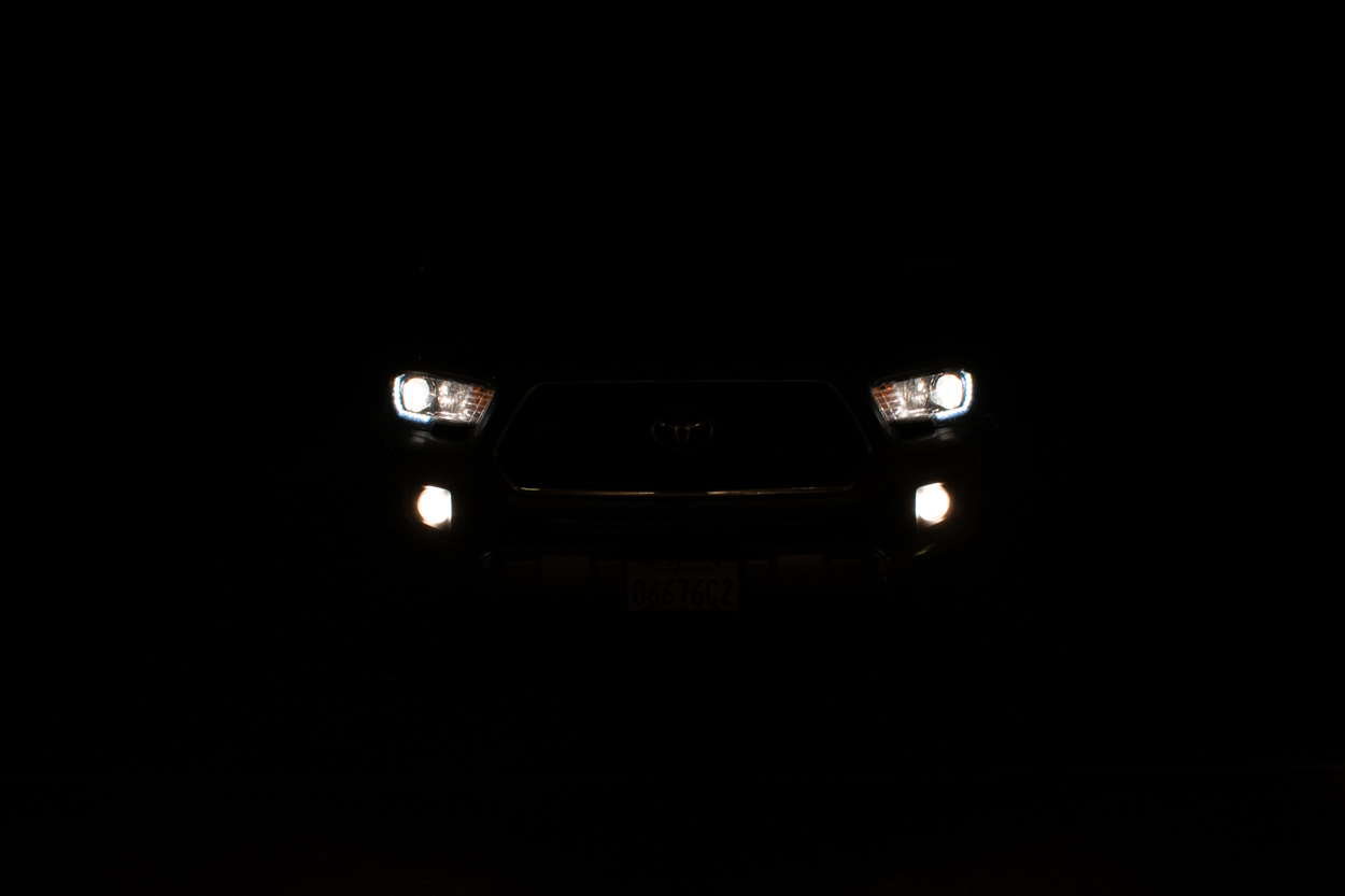 Stock 3rd Gen Toyota Tacoma Halogen Fog Light Output
