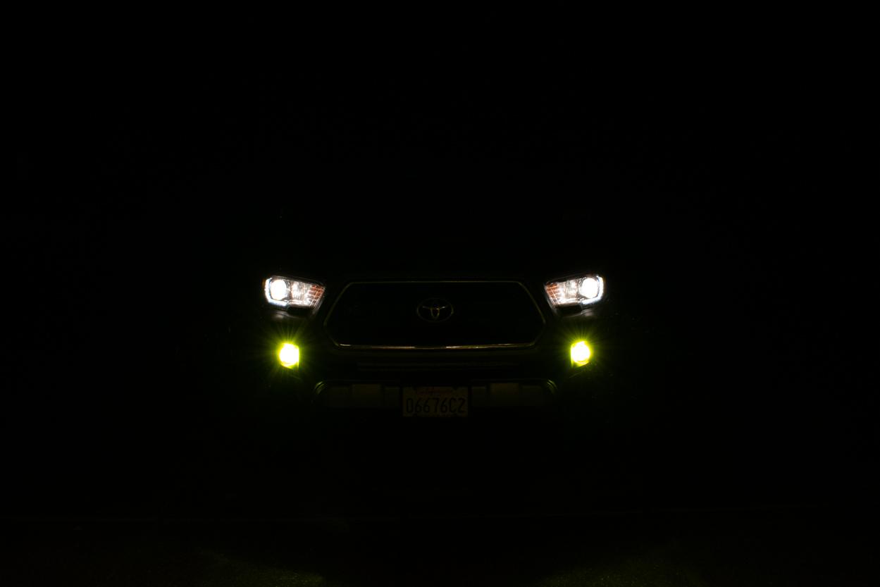 LASFIT Yello/Amber LED Fog Light Output