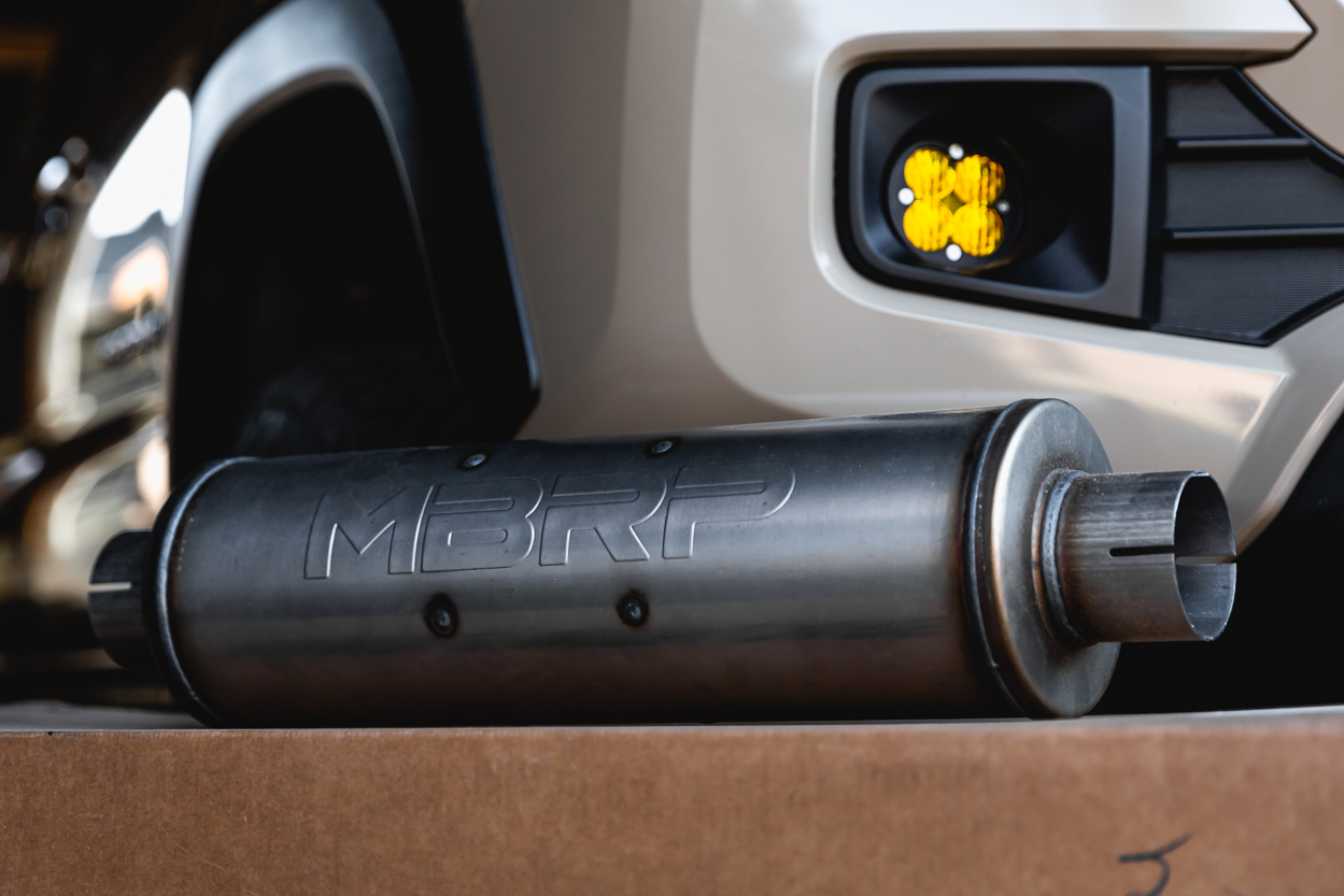 MBRP XP Aftermarket Cat Back Exhaust for 3rd Gen Toyota Tacoma