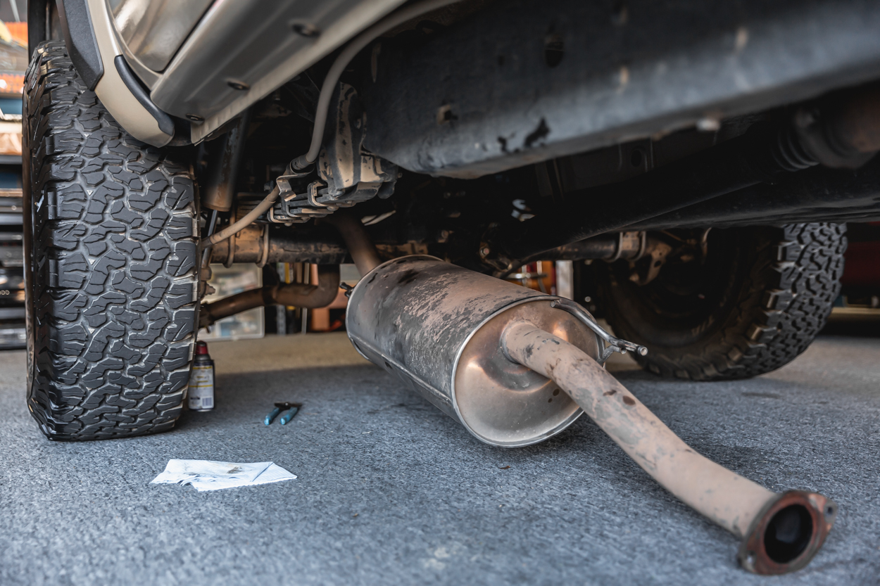Detailed Cat Back Exhaust Install Guide for 3rd Gen Toyota Tacoma