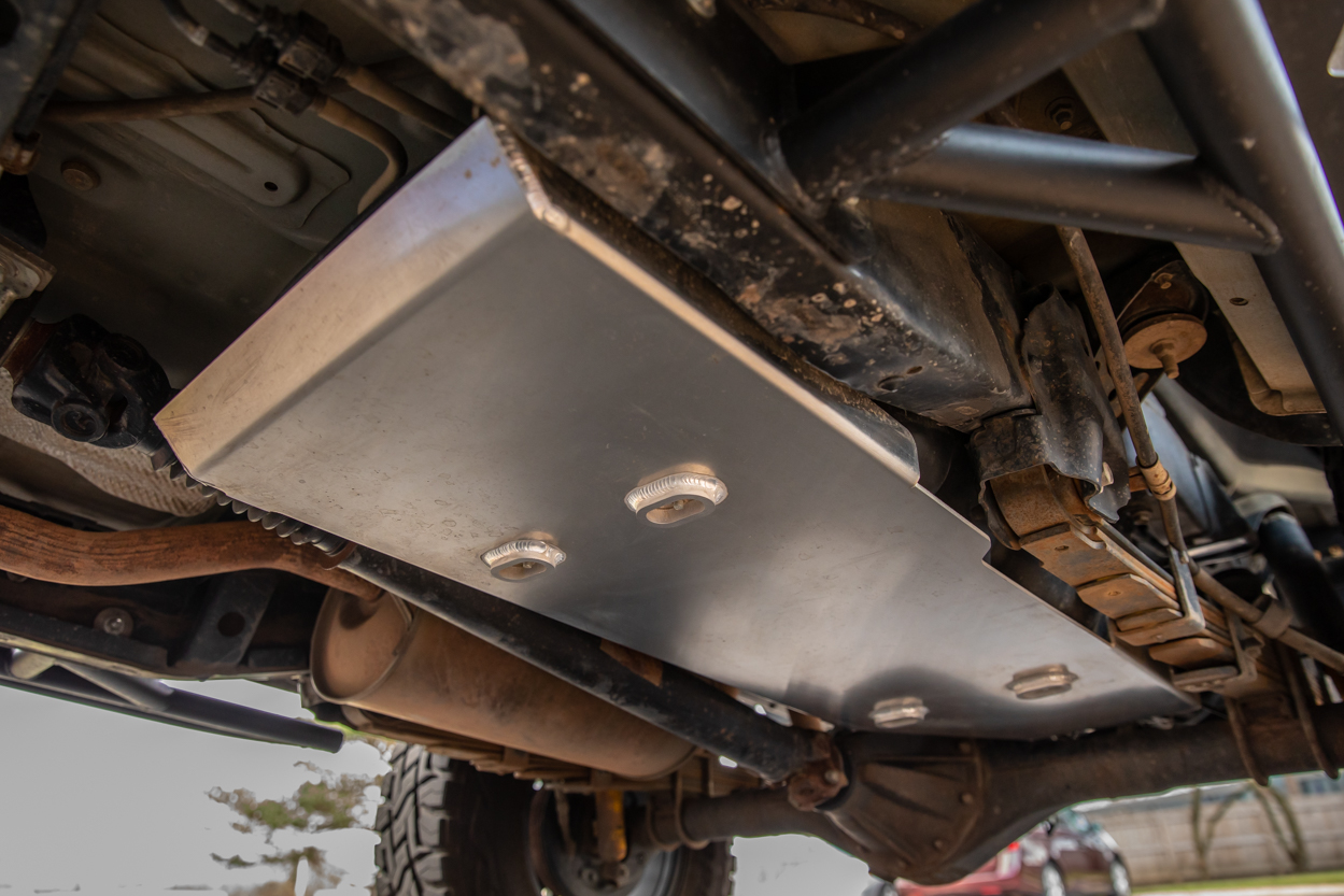 Element Aluminum Gas Tank Skid Plate - 2nd & 3rd Gen Toyota Tacoma