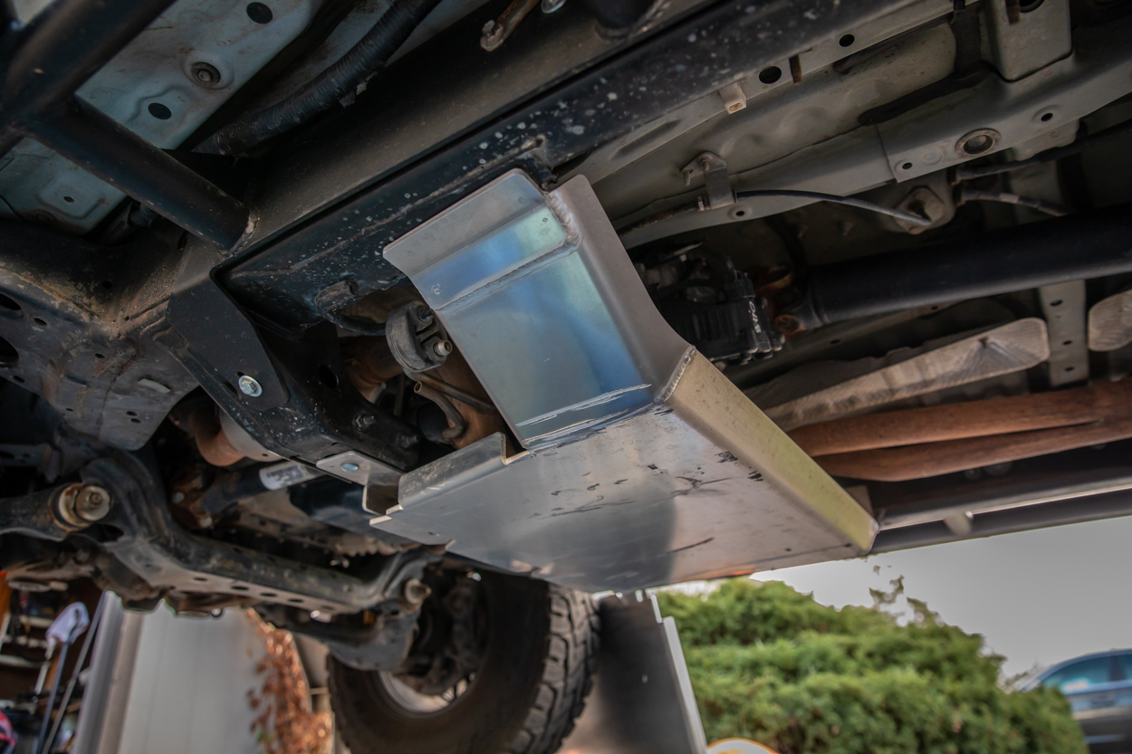 Element Aluminum Skid Plate Installed on 3rd Gen Toyota Tacoma
