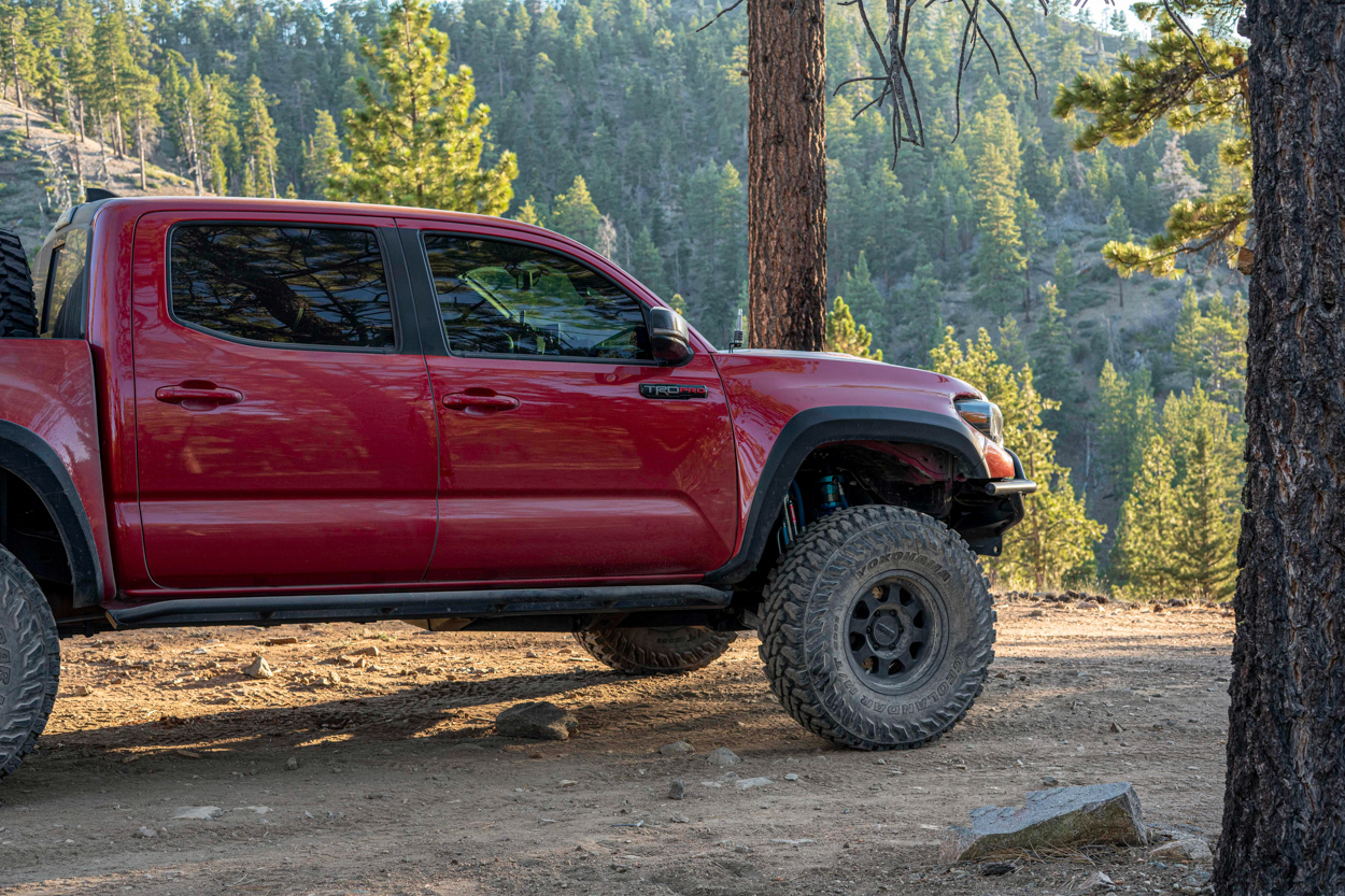Long Travel 3rd Gen Tacoma TRD Pro with Fiberglass Fenders