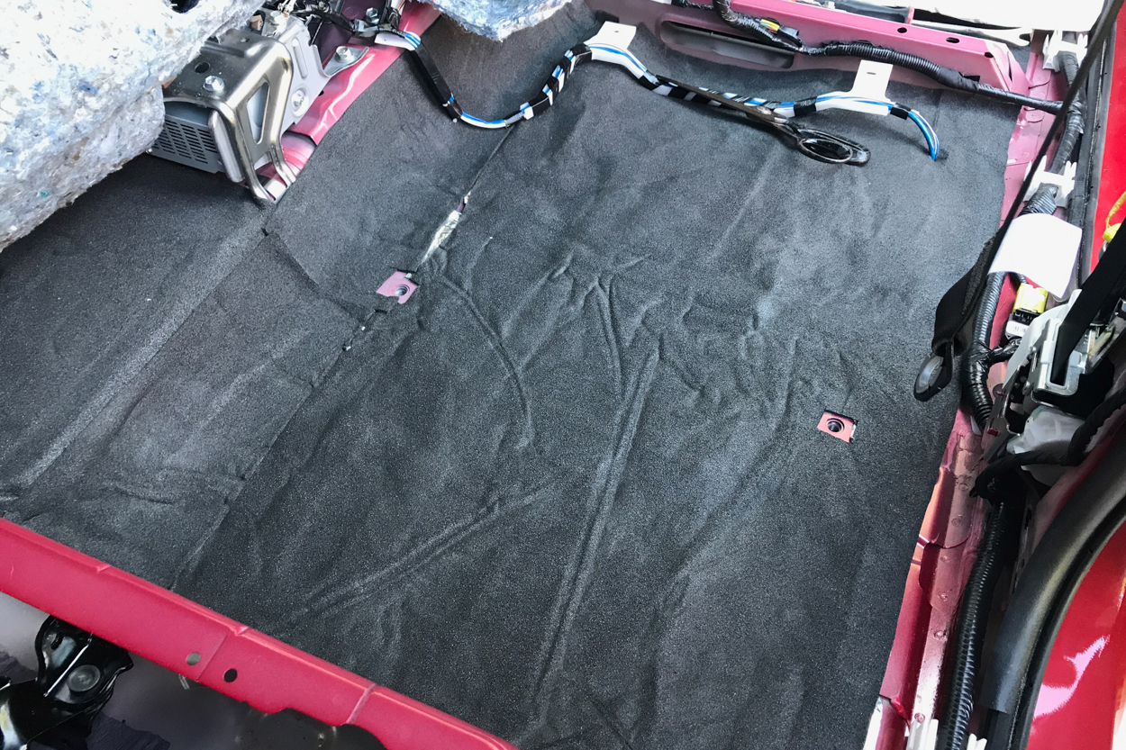Applying Closed Cell Foam (CCF) - Sound Deadening 3rd Gen Tacoma