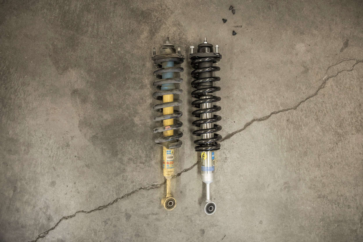 Factory Shocks Vs. Bilstein 5100 with OME 886