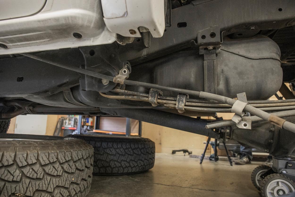 Remove Brake Line Brackets