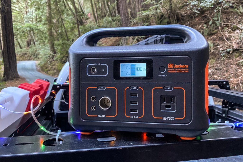 Jackery Explorer 500 Portable Power Station - Review & Overview