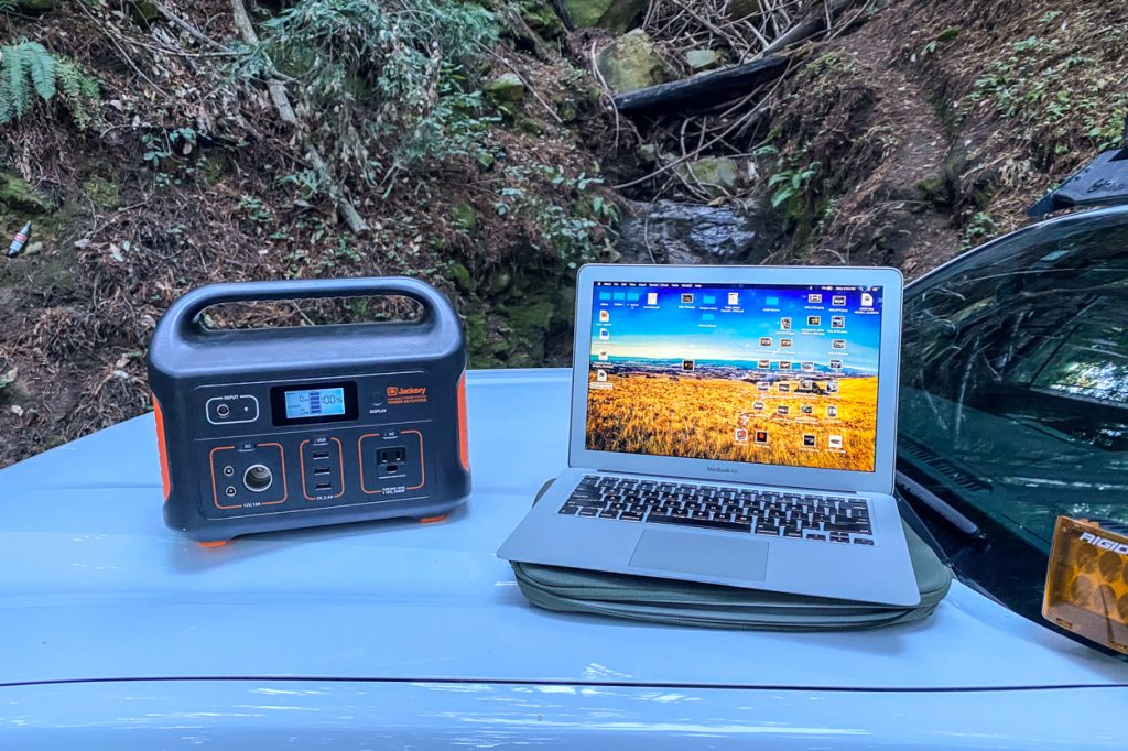 Review for Jackery Explorer 500 AC, DC & USB Portable Power Station