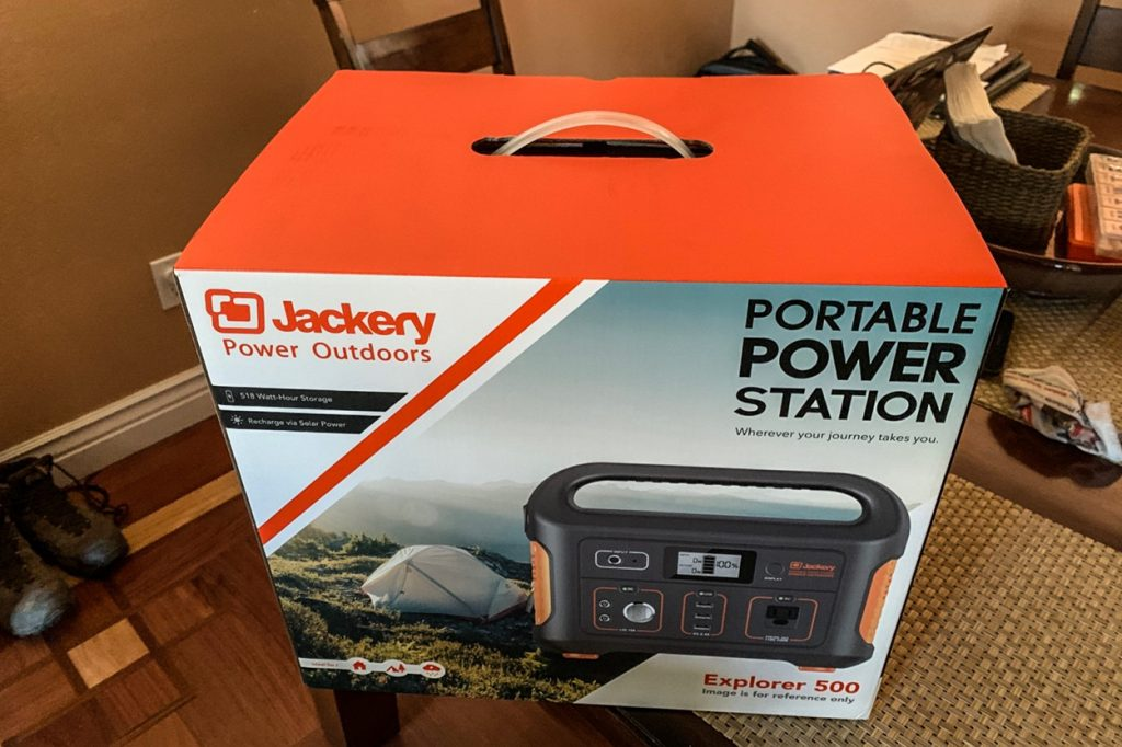 Jackery Explorer 500 Portable Power Station - Outdoor Power