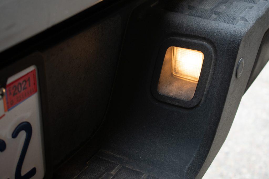 OEM License Plate Light Output - 3rd Gen Tacoma