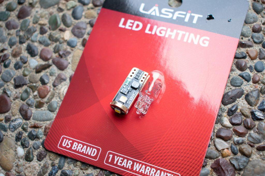 LASFIT LED License Plate Light Upgrade for 3rd Gen Tacoma