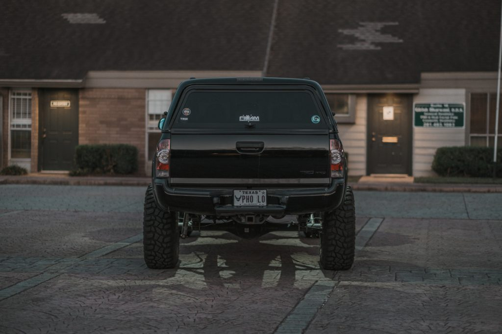 RLB Universal LED Rock Lights on Lifted 2nd Gen Tacoma