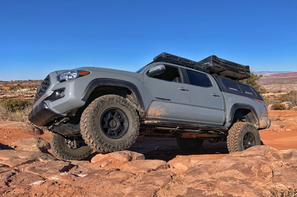 3rd Gen Tacoma with Blacked Out Emblems & Badges