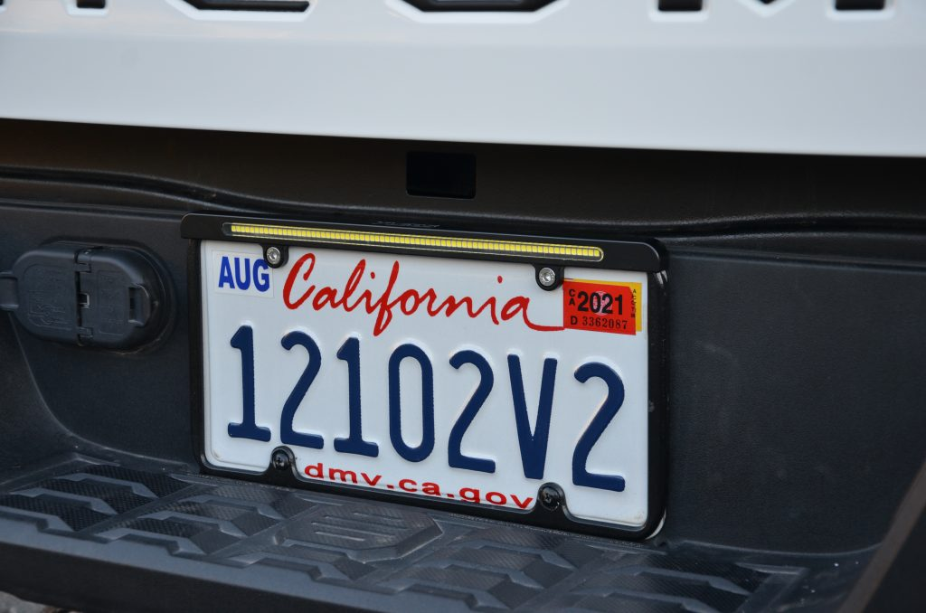 LED License Plate Reverse Light System from VLEDS