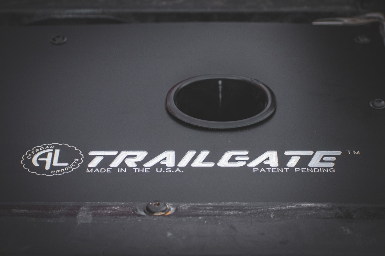 Aluminum Tailgate Panel for 2nd Gen Tacoma