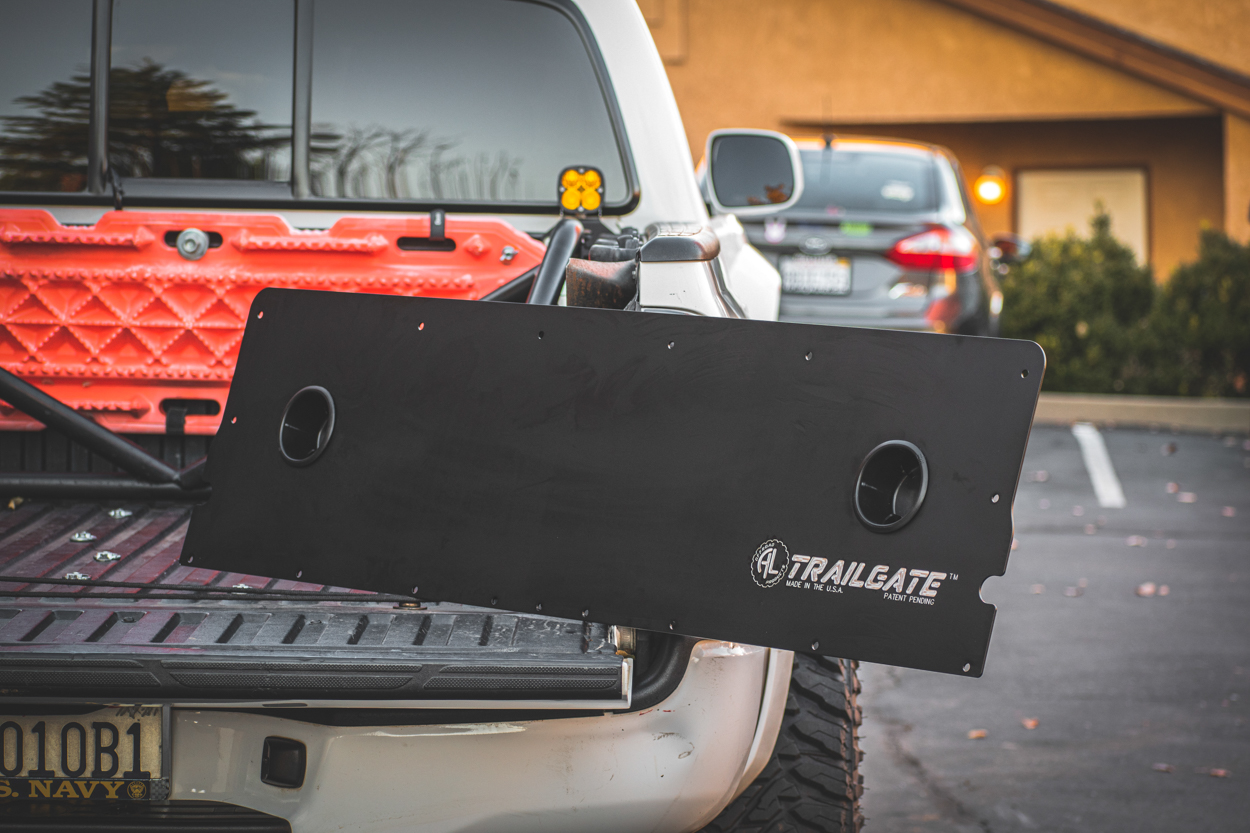 AL OffRoad Aluminum Trailgate - 2nd Gen Tacoma Tailgate Replacement Panel