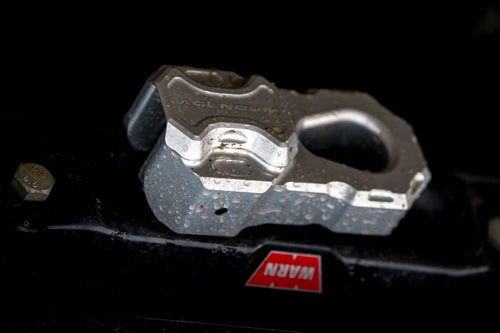 Billet Aluminum Winch Shackle - Winch Hook Alternative
