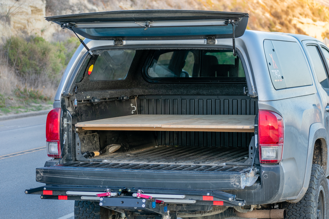 Simple DIY Truck Bed Sleeping Platform for 2nd & 3rd Gen Tacoma