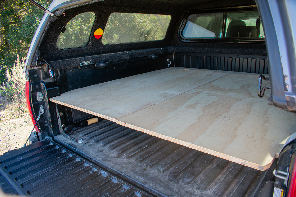 3rd Gen Tacoma with DIY Bed Platform
