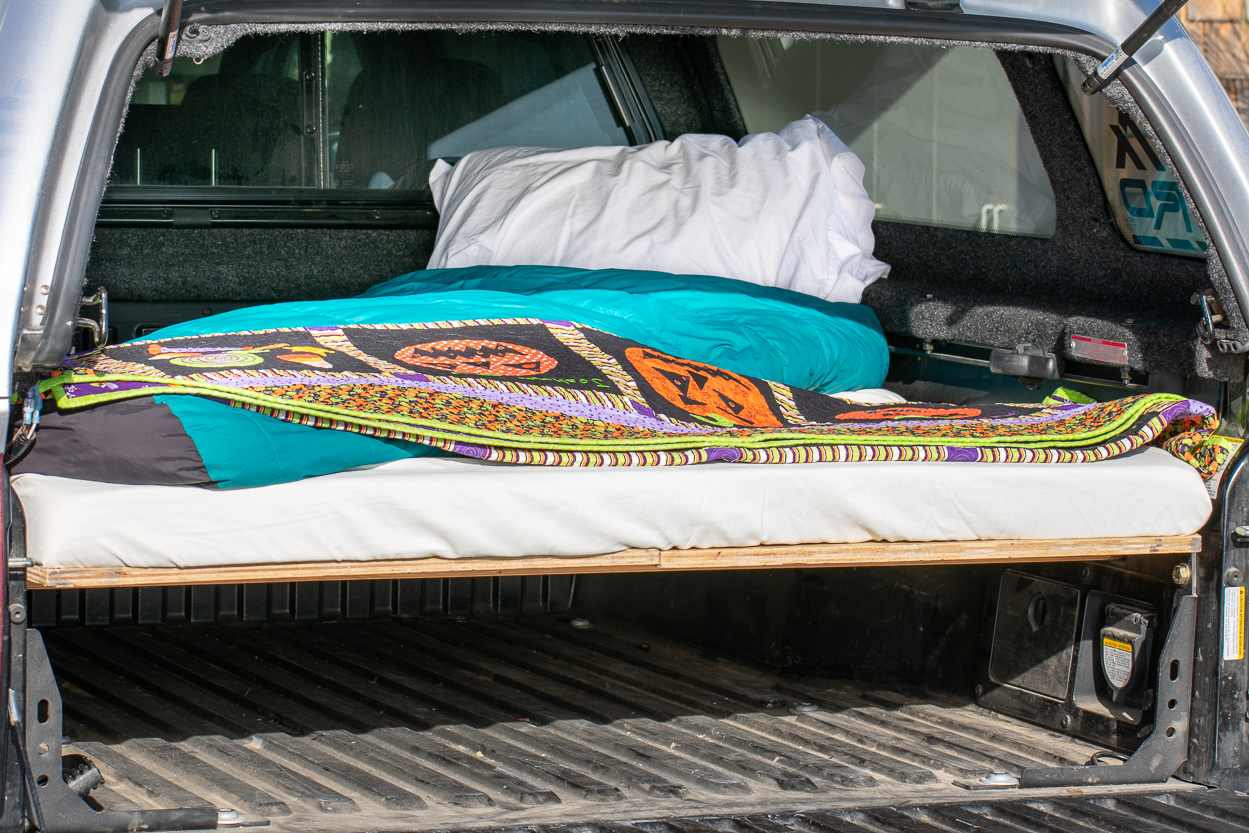 Removable Truck Bed Sleeping Platform - Toyota Tacoma
