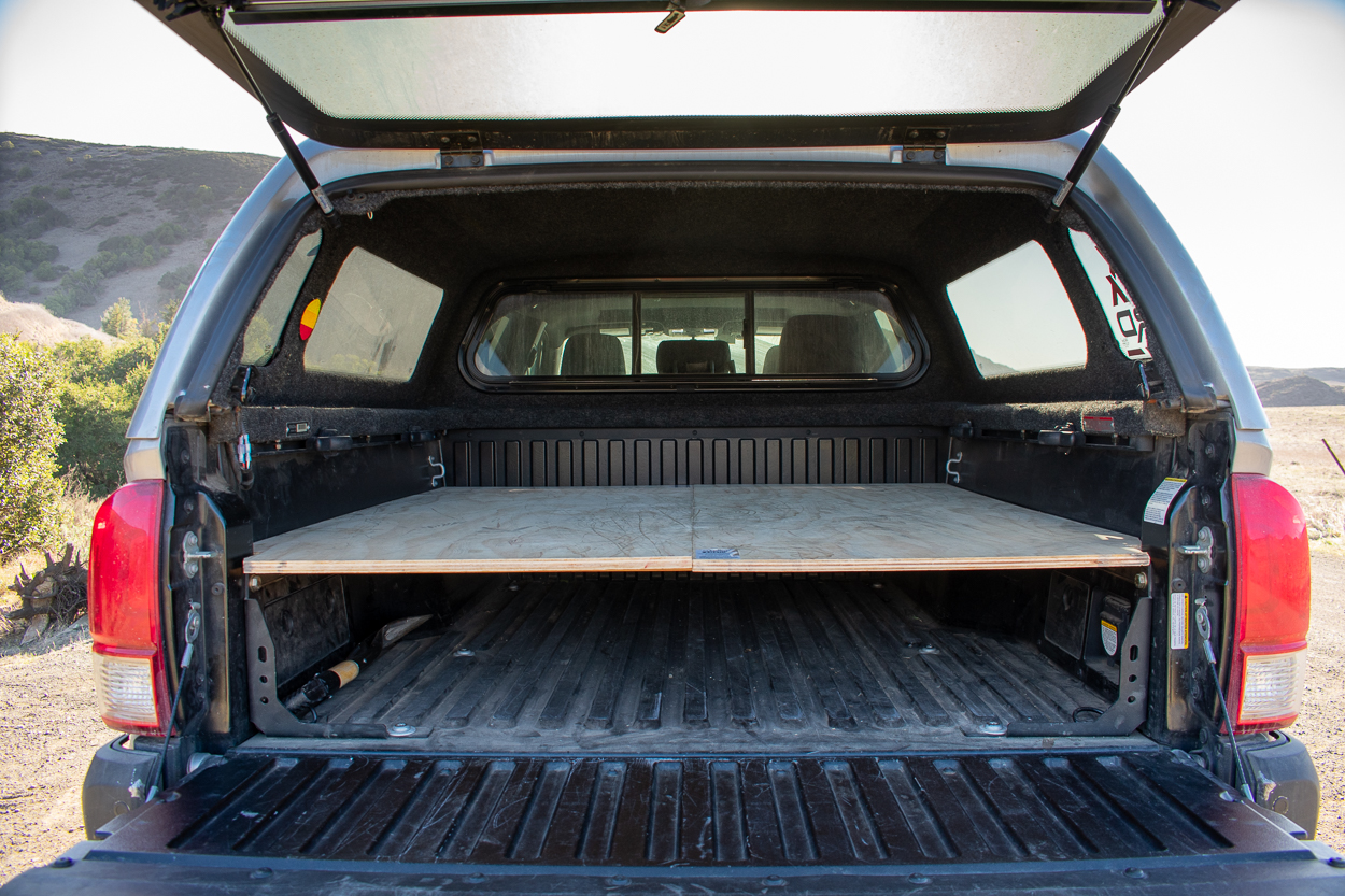 Sleeping Platform for Truck Camping