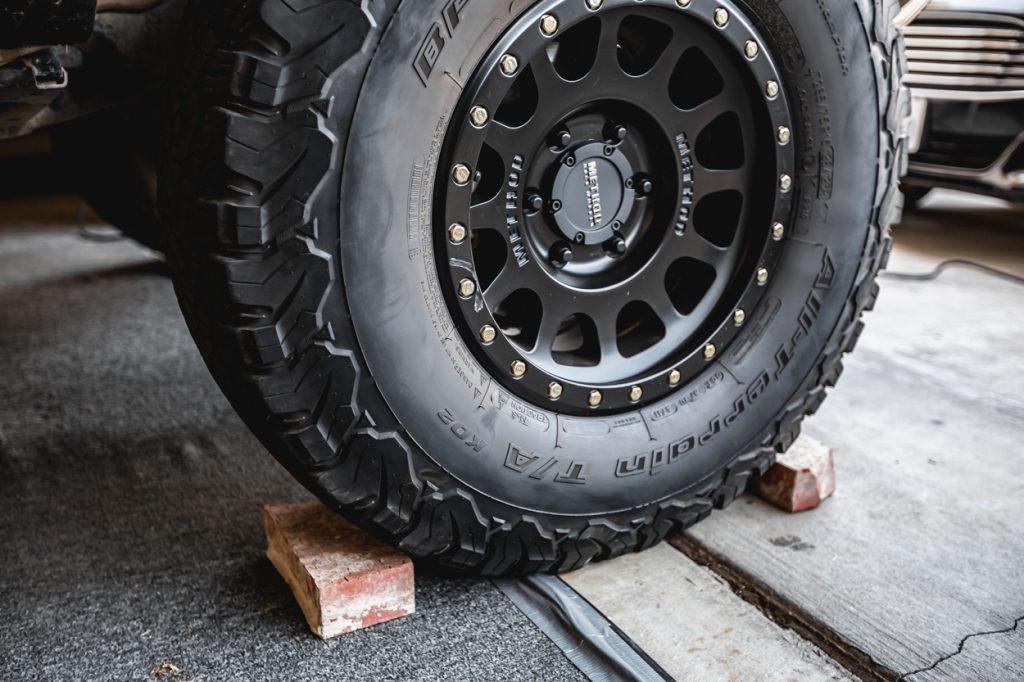 Chock & Block Tires