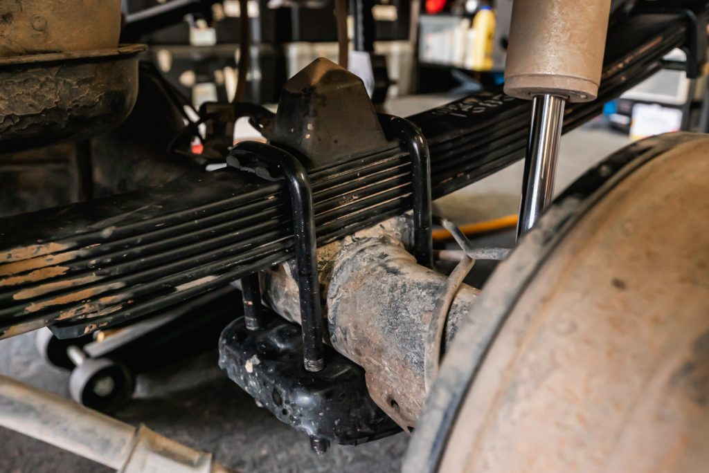 Icon Leaf Spring Detailed Installation