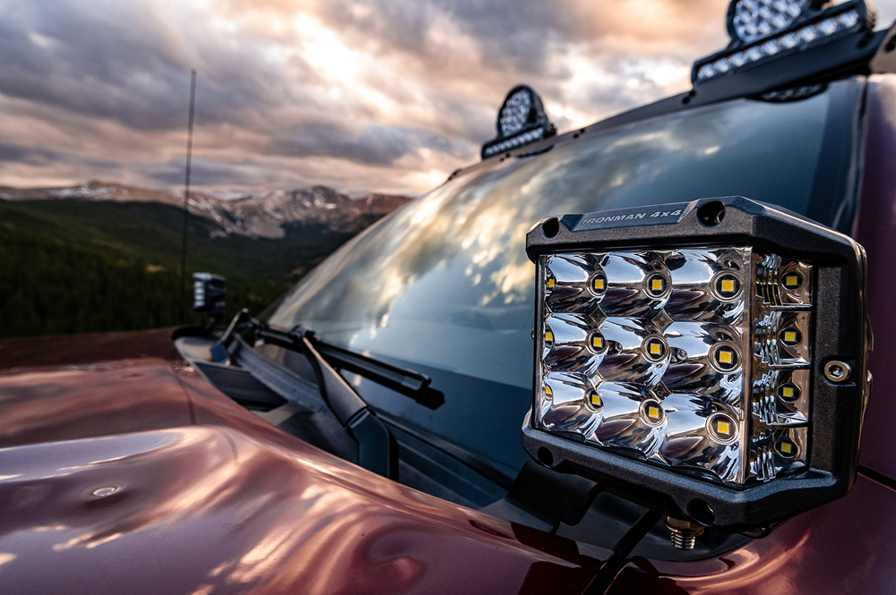 LED Auxiliary Lighting for Off-Road & Overland from Ironman 4X4 America