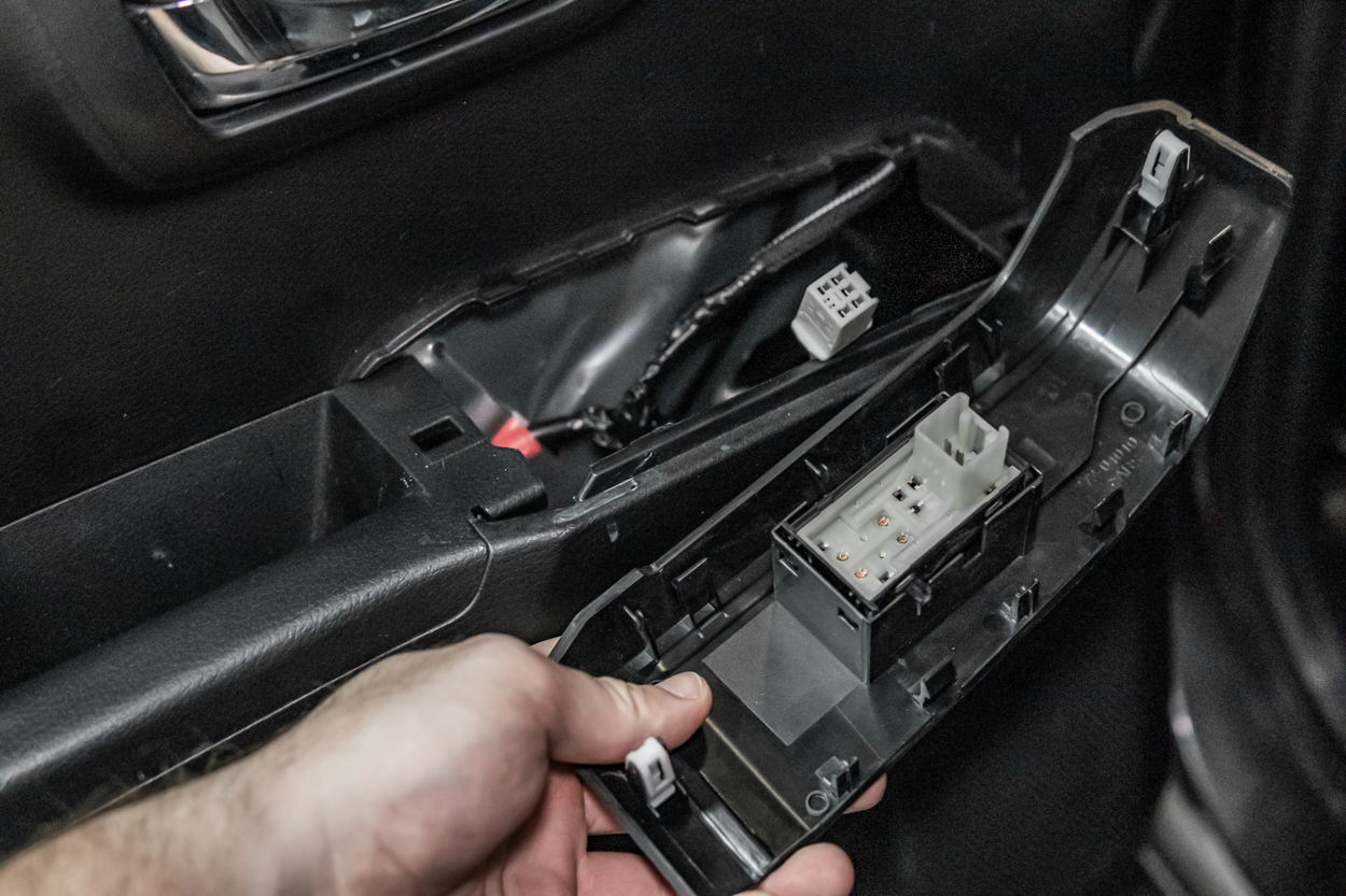 Removing Rear Tacoma Power Window Switch