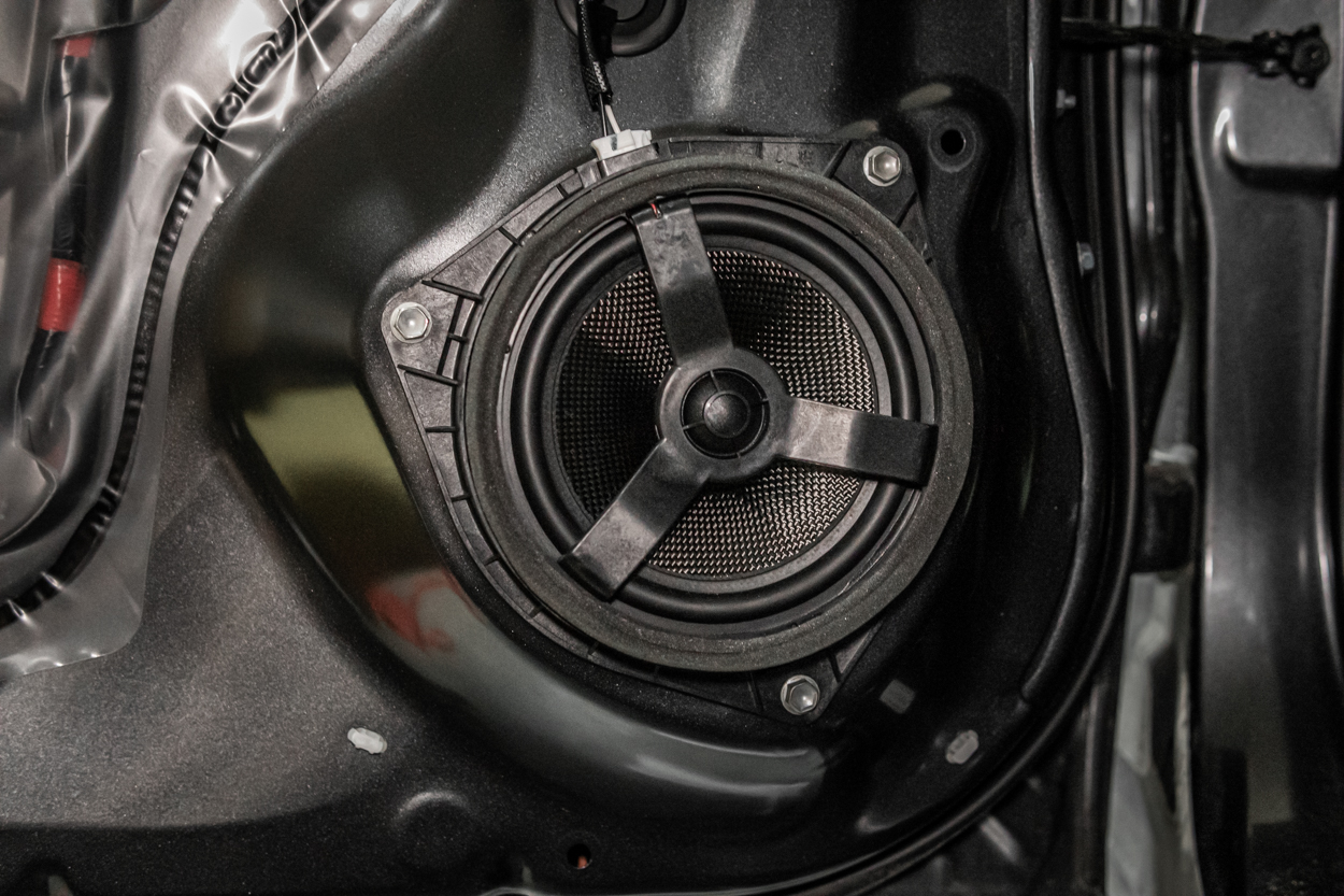 Installing Coaxial Carbon Fiber Speaker Upgrade on Toyota Tacoma
