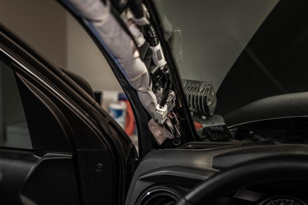 Removing A-Pillar Trim on Toyota Tacoma