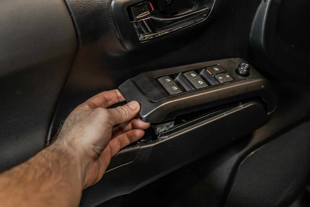 How To Take off Front Door Panel on Tacoma