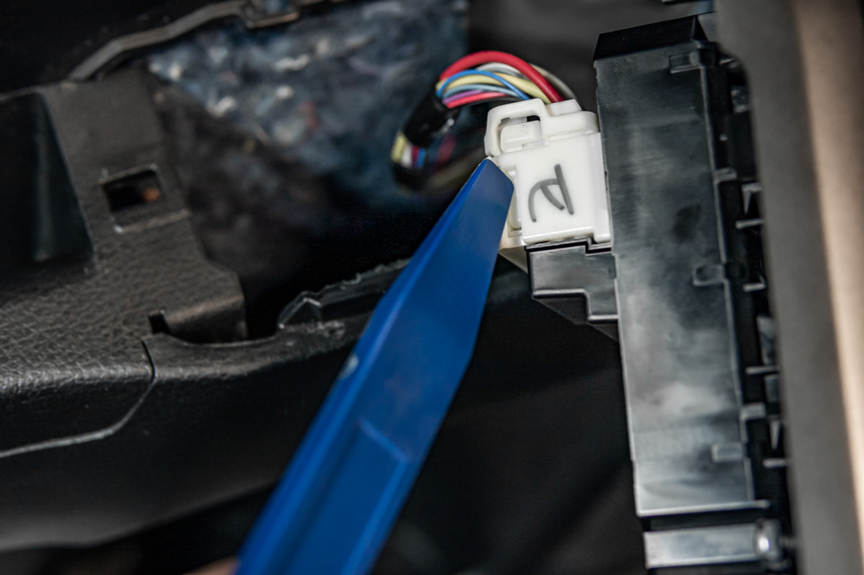 Disconnecting Power Window and Mirror Switches