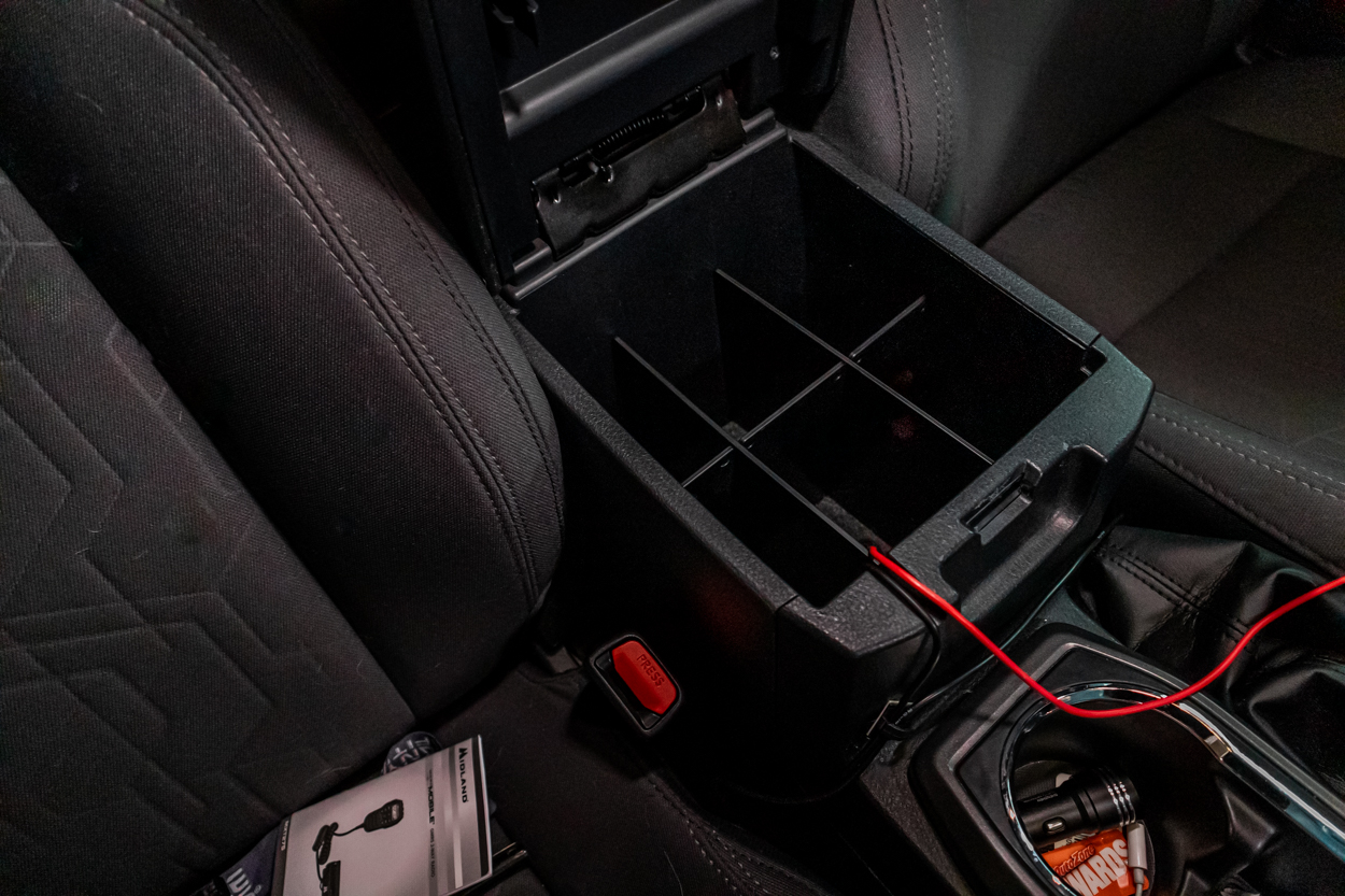 Vehicle OCD Center Console Divider for 3rd Gen Tacoma