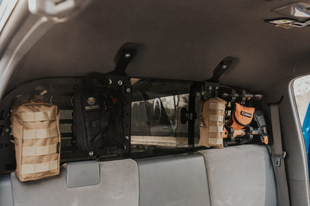 Tacoma Twins Modular Rear Window Molle Storage Panel Full Review & Overview