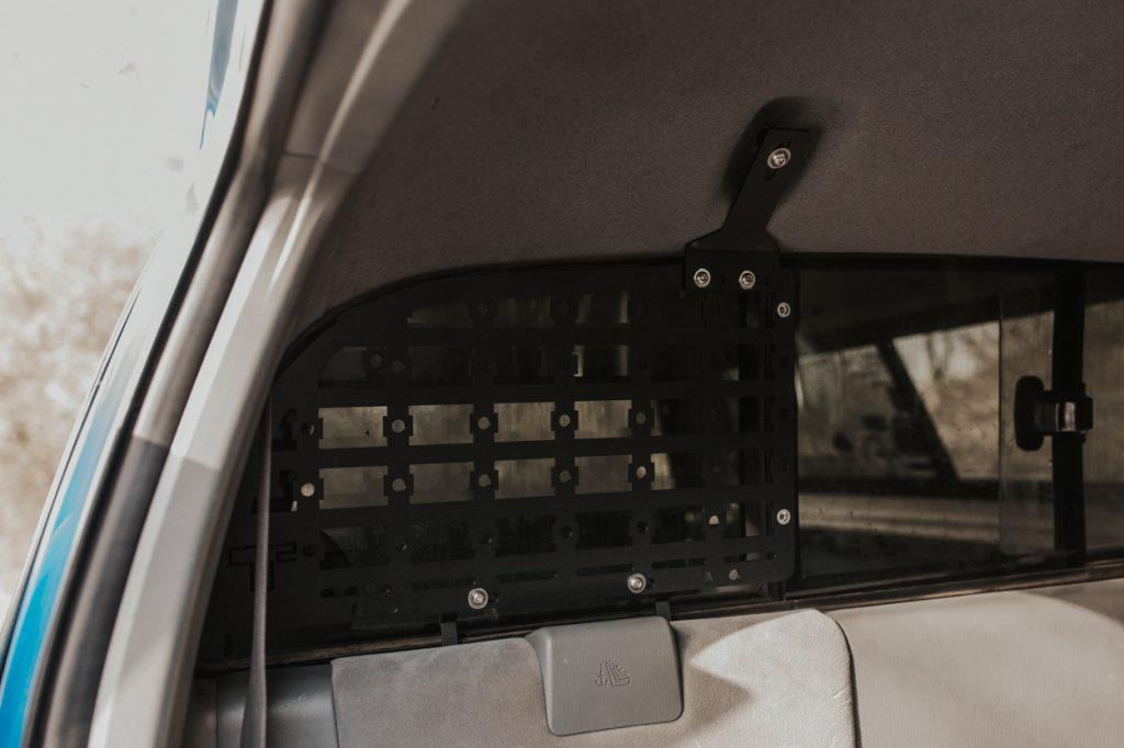 Bolt Molle Storage Panel to Installed Brackets