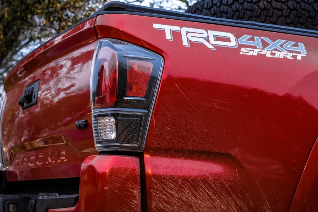 Unique Style Racing Replica TRD Pro Taillights for 3rd Gen Tacoma