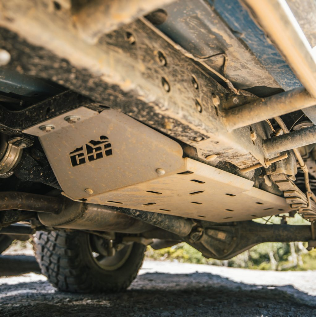 Gas Tank Skid Plate from CBI Off-Road Fabrication for 2nd & 3rd Gen Tacoma