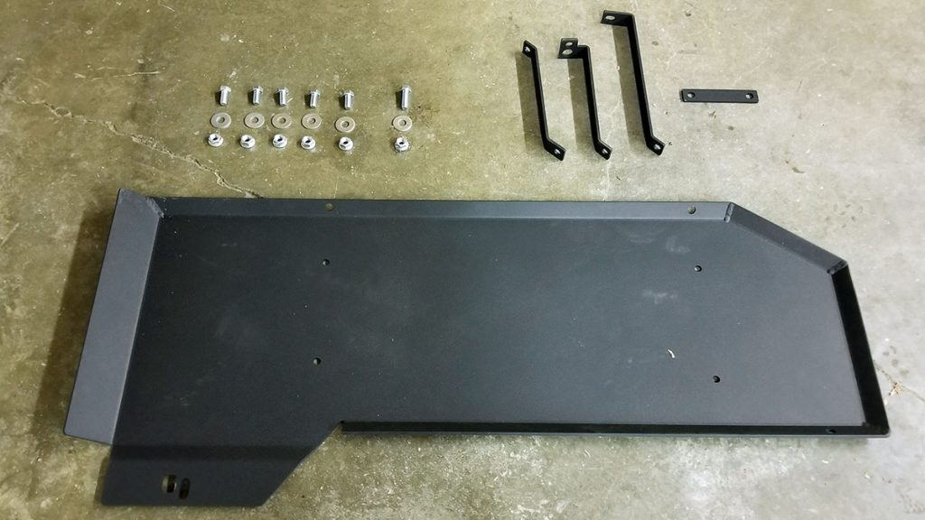 Steel Gas Tank Skid Plate for 2nd & 3rd Gen Toyota Tacoma
