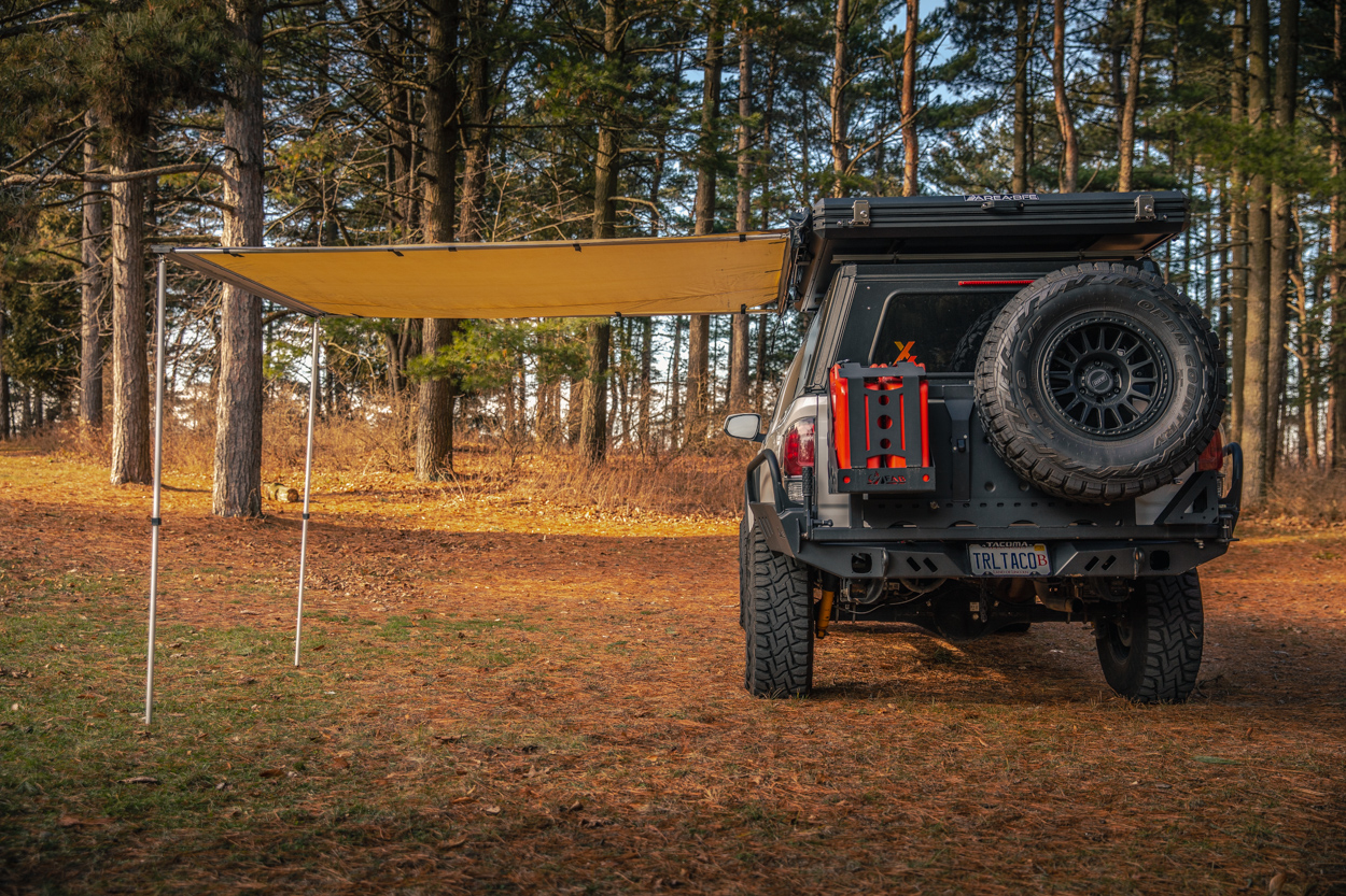 Retractable Awning for Off-Road & Overland Travel