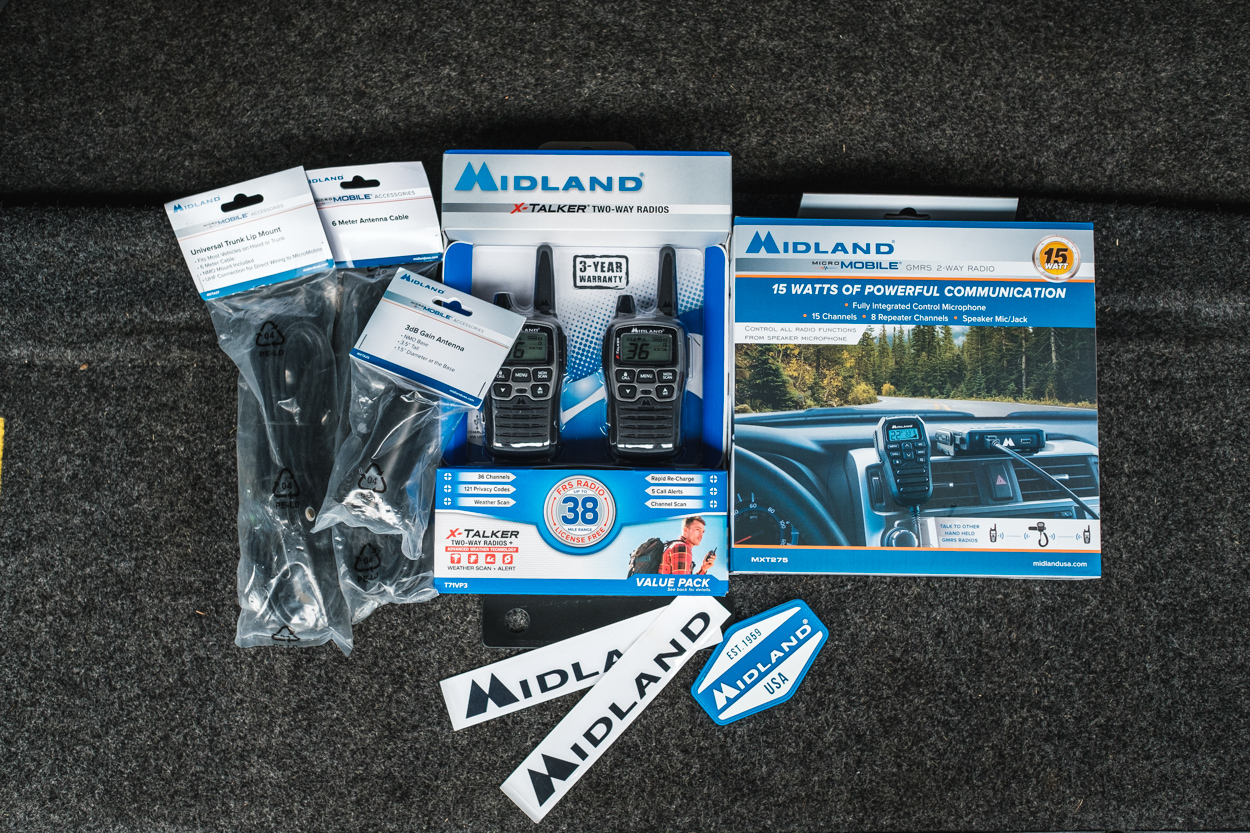 Midland USA GMRS & FRS Radios - Complete Review & Overview