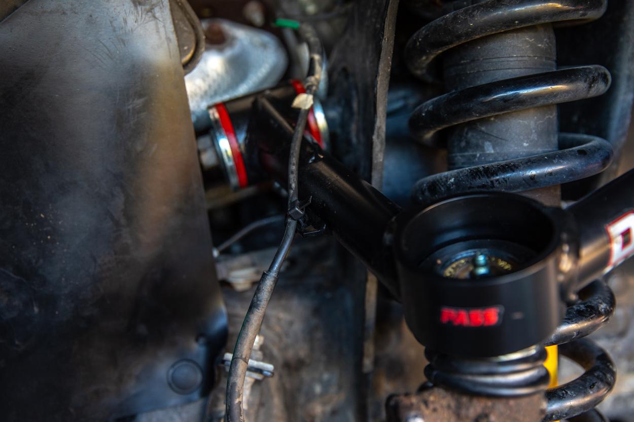 Zip Tie ABS Wires to Dirt King UCAs - 3rd Gen Tacoma