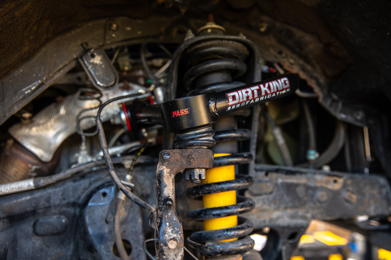 Dirt King Fabrication Upper Control Arms (UCAs) on 3rd Gen Tacoma
