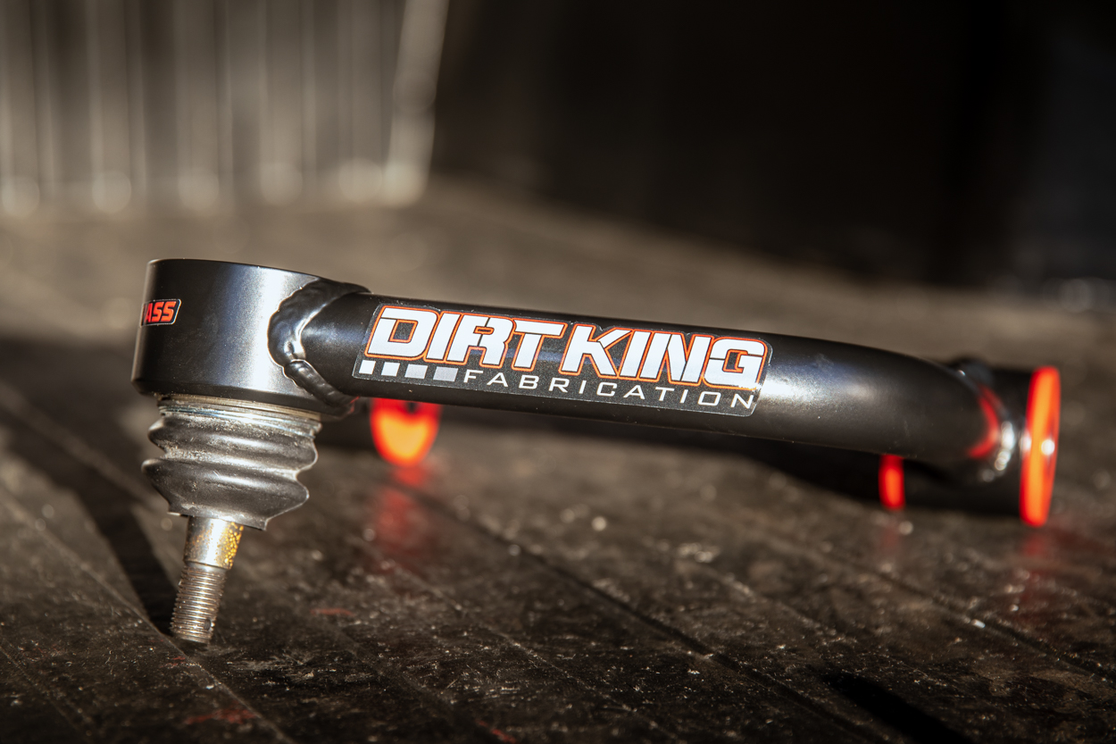 Dirt King Fabrication 4130 Chromoly Steel Aftermarket Upper Control Arms for 2nd & 3rd Gen Tacoma