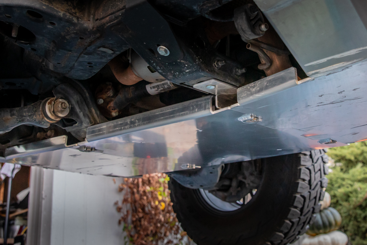 Seamless Integrated Aluminum Skid Plates for 2nd & 3rd Gen Toyota Tacoma