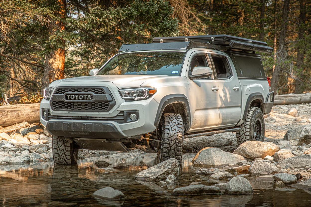 3rd Gen Tacoma with Full Element Aluminum Skid Plates - Review & Overview