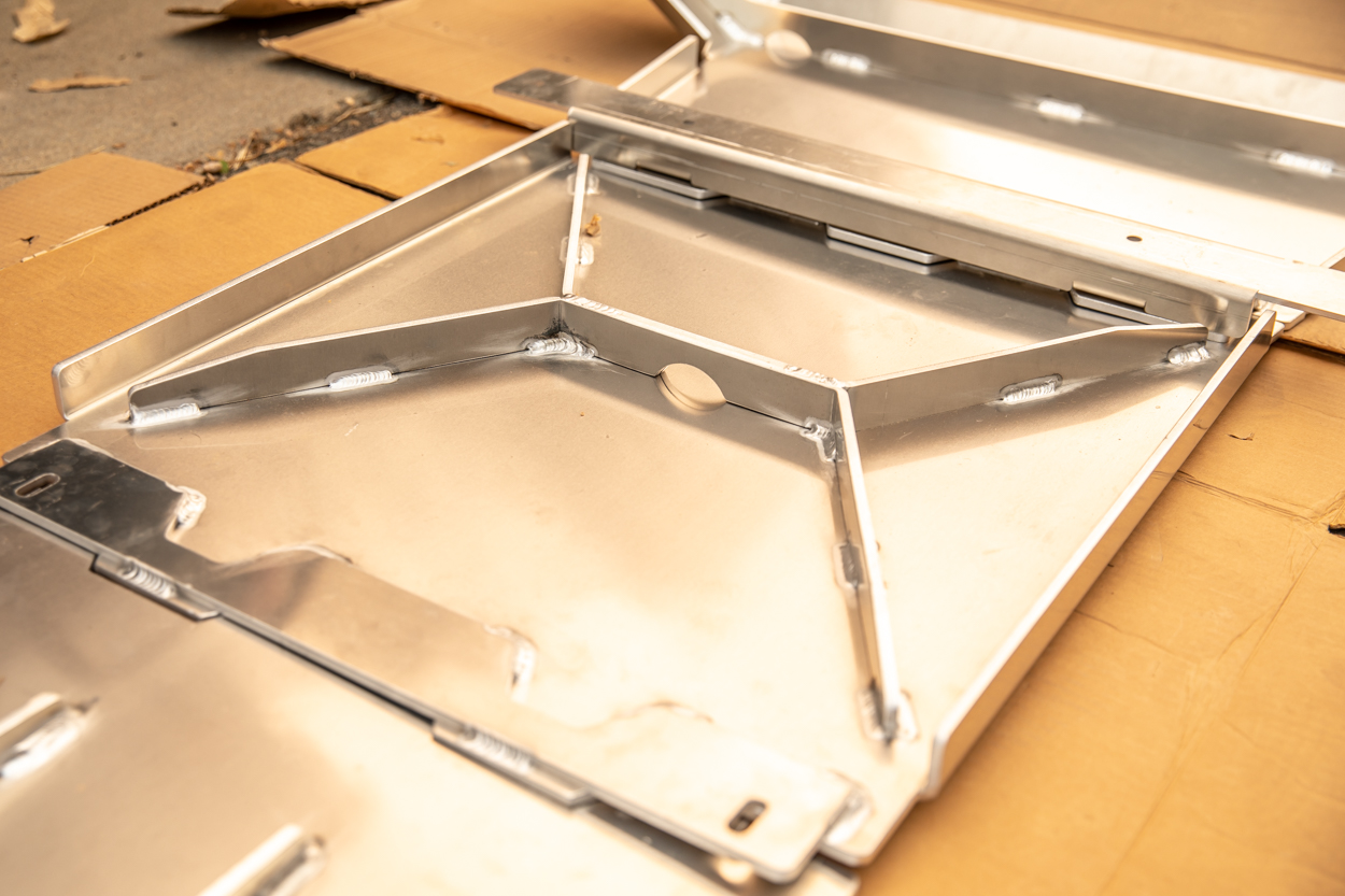 Moab Reinforcement Package for Element Aluminum Belly Skid Plates
